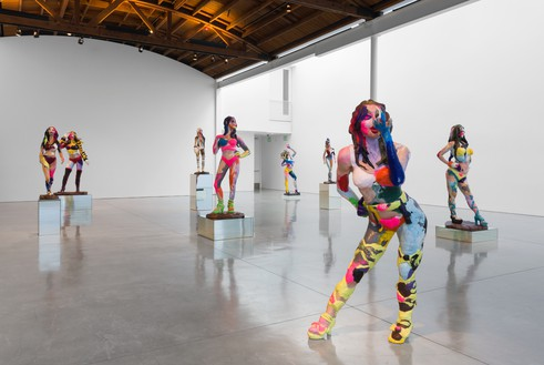 Installation view Artwork © Rachel Feinstein. Photo: Jeff McLane