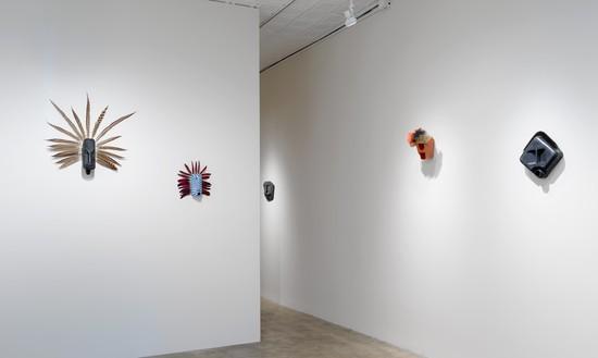 Installation view Artwork © 2018 Romuald Hazoumè and Artists Rights Society (ARS), New York/ADAGP, Paris. Photo: Rob McKeever