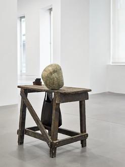 "Installation view with Tatiana Trouvé, Notes on Sculptures, September 15th, ""Jill,"" 2016 (2016) Artwork © Tatiana Trouvé. Photo: Matteo D'Eletto"