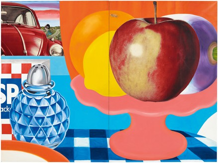 Tom Wesselmann, Still Life #29, 1963 Oil and printed paper collaged on canvas, in 2 parts, overall: 108 × 144 inches (274.3 × 365.8 cm)© The Estate of Tom Wesselmann/Licensed by VAGA, New York