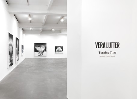Installation view Artwork © Vera Lutter. Photo: Mike Bruce