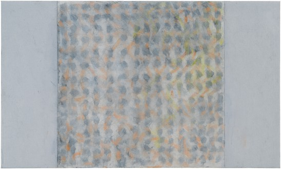 Brice Marden, Nevis Study 3, 2017 Oil on linen, 36 × 60 inches (91.4 × 152.4 cm)© 2019 Brice Marden/Artists Rights Society (ARS), New York. Photo: Rob McKeever
