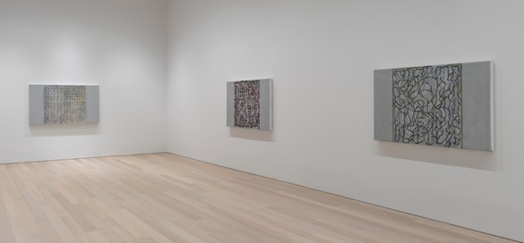 Installation view Artwork © 2019 Brice Marden/Artists Rights Society (ARS), New York. Photo: Rob McKeever