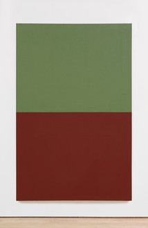 Brice Marden, Helen's Moroccan Painting, 1980 Oil and wax on canvas, 69 × 45 inches (175.3 × 114.3 cm)© 2019 Brice Marden/Artists Rights Society (ARS), New York