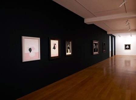 Installation view Artwork, left to right: Sanyu