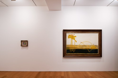 Installation view Artwork, left to right: Paul Cézanne, Sanyu