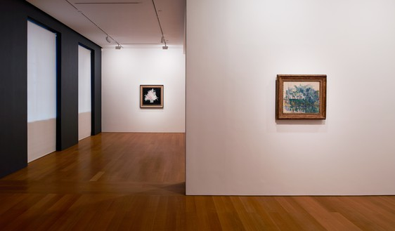 Installation view Artwork, left to right: Sanyu, Paul Cézanne