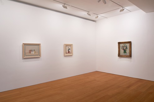 Installation view Artwork, left to right: Giorgio Morandi © DACS 2019, Sanyu, Paul Cézanne