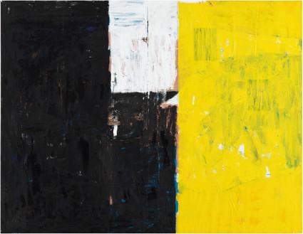 Joe Bradley, City at Dawn, 2019 Oil on canvas, 60 × 77 ¼ inches (152.4 × 196.2 cm)© Joe Bradley