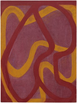 Brice Marden, Study 2000, 2000 Oil on linen, 24 ¼ × 18 inches (61.6 × 45.7 cm)© 2019 Brice Marden/Artists Rights Society (ARS), New York