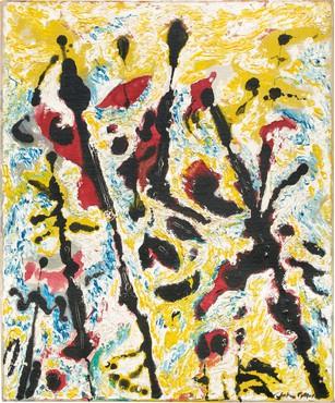 Jackson Pollock, Moon Vibrations, c. 1953–55