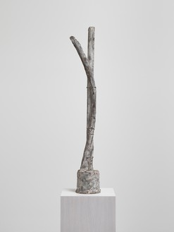 Cy Twombly, Untitled (St. Sebastian), 1998 Bronze, 50 ⅜ × 9 ⅛ × 7 ½ inches (128 × 23 × 19 cm), edition 1/3© Cy Twombly Foundation