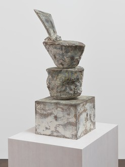 Cy Twombly, Untitled, 2004 Bronze, 31 ⅞ × 15 ¼ × 11 ⅝ inches (81 × 38.5 × 29.5 cm), edition 4/6© Cy Twombly Foundation