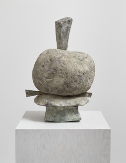 Cy Twombly, Untitled (Humpty Dumpty), 2004 Bronze, 28 ¾ × 19 ⅜ × 19 ⅜ inches (73 × 49 × 49 cm), edition 1/4© Cy Twombly Foundation
