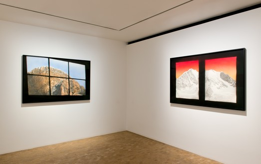 Installation view Artwork © Ed Ruscha. Photo: Joanna Fernandes