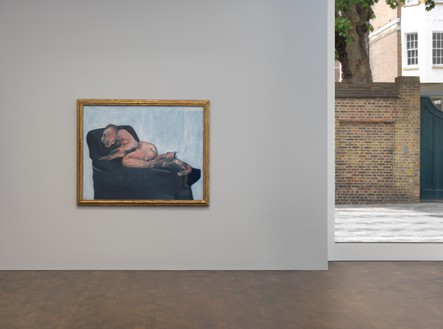 Installation view with Francis Bacon, Sleeping Figure (1959) Artwork © The Estate of Francis Bacon. All rights reserved, DACS 2019. Photo: Mike Bruce