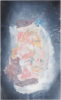 Georg Baselitz, Piet M., 2018 Oil on canvas, 64 ⅞ × 39 ⅜ inches (165 × 100 cm)© Georg Baselitz. Photo: Jochen Littkemann