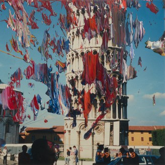 Gerhard Richter, Firenze (29.1.2000), 2000 Oil on color photograph, 4 ¾ × 4 ¾ inches (12 × 12 cm)© Gerhard Richter 2019 (10042019). Photo: Lucy Dawkins