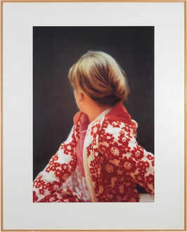 Gerhard Richter, Betty, 1991 Color offset print on cardboard, mounted on plastic board, in frame, 50 ¼ × 40 inches (127.5 × 101.5 cm), edition of 25© Gerhard Richter 2019 (07102019). Photo: Rob McKeever