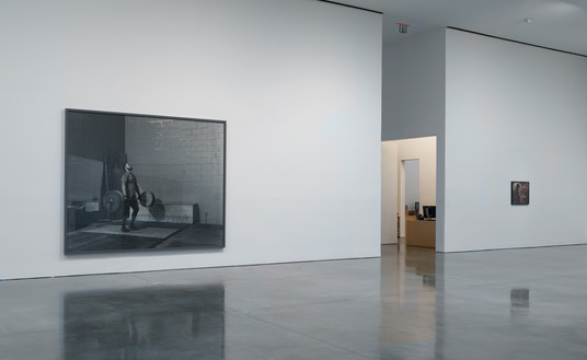 Installation view Artwork © Jeff Wall. Photo: Rob McKeever