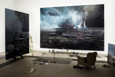 Jia Aili: Combustion, West 21st Street, New York