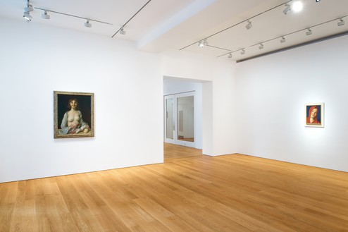 Installation view Artwork © John Currin