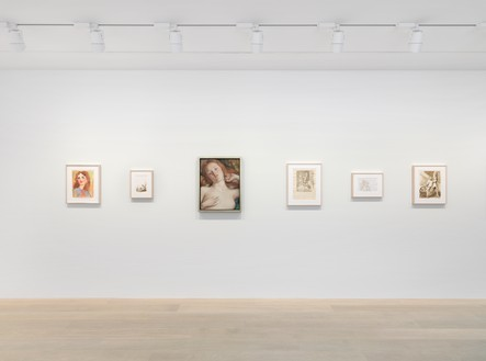 Installation view Artwork © John Currin. Photo: Annik Wetter