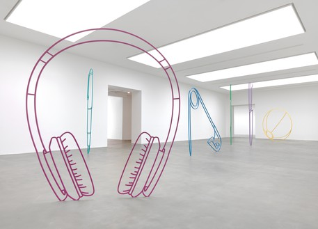 Installation view Artwork © Michael Craig-Martin. Photo: Mike Bruce