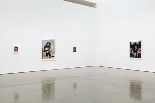 Installation view Artwork © Nathaniel Mary Quinn. Photo: Jeff McLane