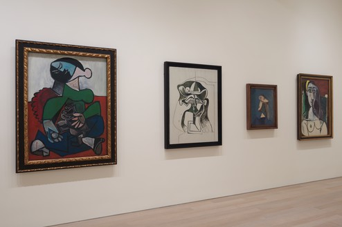 Installation view Artwork © 2019 Estate of Pablo Picasso/Artists Rights Society (ARS), New York. Photo: Rob McKeever