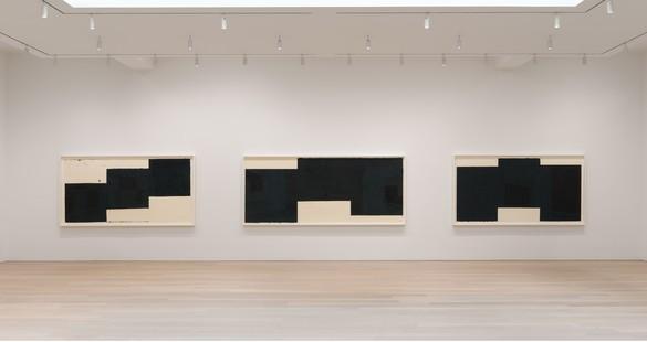 Installation view Artwork © 2019 Richard Serra/Artists Rights Society (ARS), New York. Photo: Rob McKeever