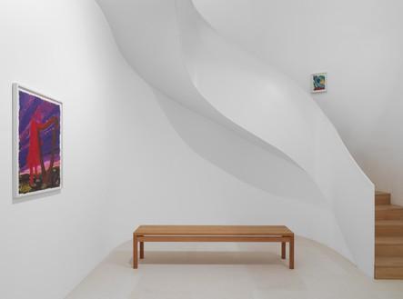 Installation view Artwork © Spencer Sweeney. Photo: Stefan Altenburger
