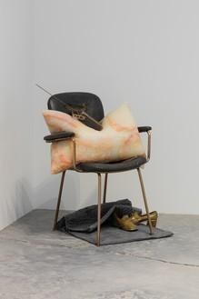 Installation view with Tatiana Trouvé, The Guardian (2019) Artwork © Tatiana Trouvé. Photo: Fredrik Nilsen Studio