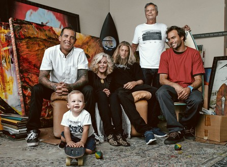 The Fletcher Family, Astrodeck, San Clemente, California, 2015 Photo: Rafael Pulido, courtesy Fletcher Family Archive