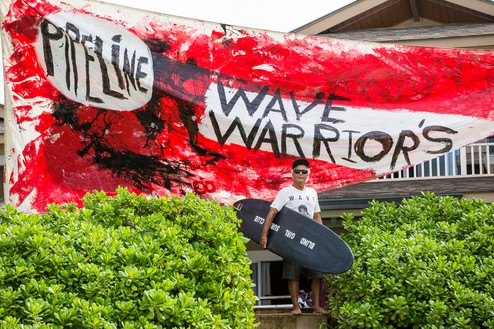 Herbie, Wave Warriors, North Shore, Hawaii, 2015 Photo: Tom Servais, courtesy Fletcher Family Archive