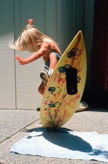 Greyson, Surfboard Ollie, 1992 Photo: Herbie Fletcher, courtesy Fletcher Family Archive