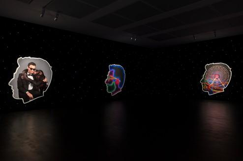 Installation view Artwork © Alex Israel. Photo: Lucy Dawkins