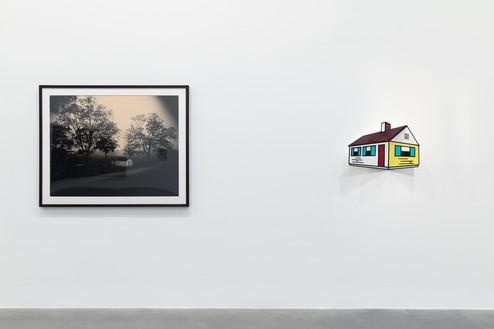Installation view Artwork, left to right: © Sally Mann, © Estate of Roy Lichtenstein/DACS 2020. Photo: Lucy Dawkins