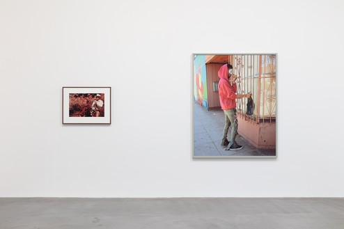 Installation view Artwork, left to right: © Richard Prince, © Jeff Wall. Photo: Lucy Dawkins