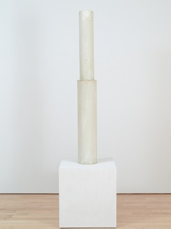 Cy Twombly, Untitled, 1977 Painted synthetic resin, 66 × 9 × 9 inches (167.6 × 22.9 × 22.9 cm)© Cy Twombly Foundation. Photo: Rob McKeever