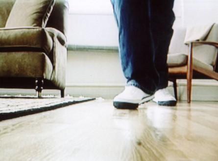 Douglas Gordon, Domestic (as long as it lasts), 2002 (still) Single-channel video (color, silent, 13 min. 58 sec.) and monitor, edition of 3 + 1 AP© Studio lost but found/VG Bild-Kunst, Bonn, Germany, 2020