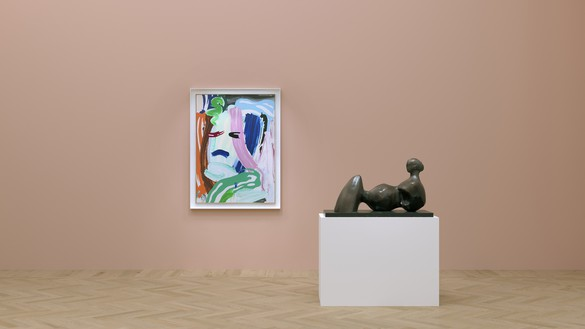 Virtual installation view Artwork, left to right: © Estate of Roy Lichtenstein, reproduced by permission of The Henry Moore Foundation