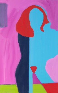 Spencer Sweeney, Moving In, 2020 Oil on linen, 48 × 30 inches (121.9 × 76.2 cm)© Spencer Sweeney. Photo: Rob McKeever