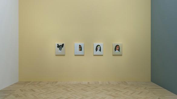 Virtual installation view with Adriana Varejão, Kindred Spirits - Stella, Rothko, Smith, Judd, 2015 Artwork © Adriana Varejão