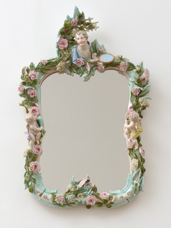 Dresden mirror frame, from the personal collection of Curzio Malaparte