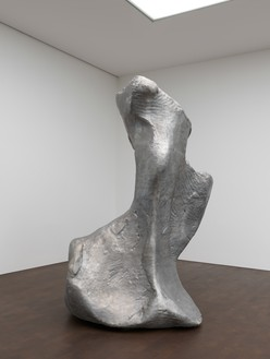 Urs Fischer, Ix, 2006–08 Cast aluminum and steel, 118 ⅛ × 88 ⅝ × 61 ¾ inches (300 × 225 × 157 cm), edition of 2 + 1 AP© Urs Fischer