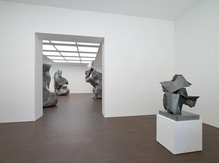 Installation view Artwork, left to right: © Urs Fischer; © 2020 Fairweather & Fairweather LTD/Artists Rights Society (ARS), New York
