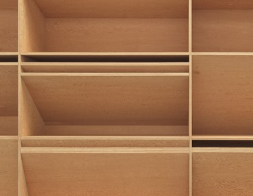 Donald Judd, untitled, 1980 (detail)