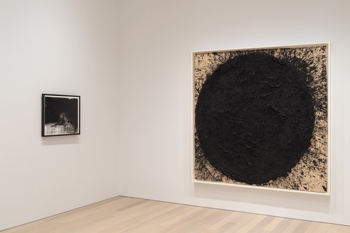 Installation view Artwork, left to right: © 2020 The Andy Warhol Foundation for the Visual Arts, Inc./Licensed by Artists Rights Society (ARS), New York; © 2020 Richard Serra/Artists Rights Society (ARS), New York. Photo: Rob McKeever