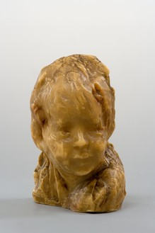 Medardo Rosso, Bambino Ebreo, c. 1920–25 Wax on plaster, 9 ⅜ × 7 ⅛ × 5 ¾ inches (23.7 × 17.9 × 14.4 cm)Photo: Rabatti & Domingie